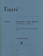 Faure G. - Sonata Op.1 N°13 - Violon and Piano