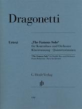 Dragonetti D. - The Famous Solo - Contrebasse Et Piano