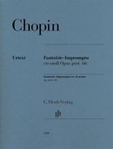 Chopin F. - Fantaisie Impromptu Cis-moll Op. Post. 66 - Piano