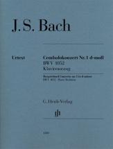 Bach J.s. - Concerto Pour Clavecin N°1 Bwv 1052 - Reduction Piano