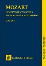 Mozart W.a. - Divertimento Eine Kleine Nachtmusik K. 525 - Conducteur De Poche