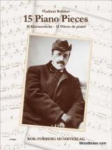 Rebikov Vladimir - 15 Piano Pieces