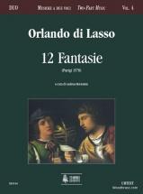 Lasso O. Di - 12 Fantasie (paris 1578)