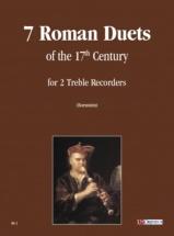 7 Roman Duets Of The 17th Century - 2 Treble Recorders