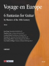 Voyage En Europe - 6 Fantasias For Guitar By Masters Of The 19th Century