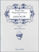 Blow J. - Twenty-five Harpsichord Pieces