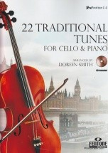 22 Traditional Tunes - Violoncelle Et Piano + Cd