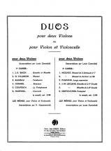 Carembat L./ Hussonmorel V. - Duos Vol.1 - Violon, Violoncelle