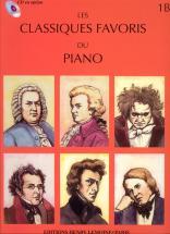 Classiques Favoris Vol.1b - Piano