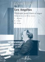Vierne Louis - Les Angelus Op.57 - Voix, Orgue