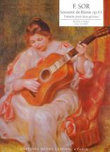 Sor Fernando - Souvenir De Russie Op.63 - 2 Guitares
