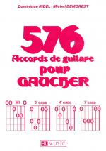 Demorest Michel - Accords Pour Gaucher (576) - Guitare