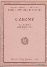 Czerny Carl - Exercices Journaliers (40) Op.337 - Piano