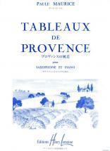 Maurice Paule - Tableaux De Provence - Saxophone, Piano