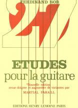 Sor Fernando - Etudes (27) - Guitare