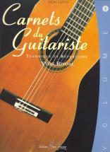 Rivoal Yvon - Carnets Du Guitariste Vol.1