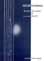 Billet Jean-pierre - Recreacordes - Guitare