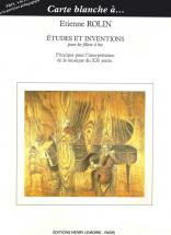 Rolin Etienne - Etudes Et Inventions - Flute A Bec