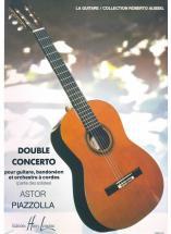 Piazzolla Astor - Double Concerto - Guitare, Bandoneon, Cordes