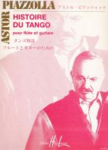 Piazzolla Astor - Histoire Du Tango - Flute, Guitare