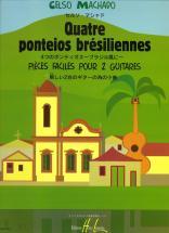 Machado Celso - Ponteios Bresiliennes (4) - 2 Guitares