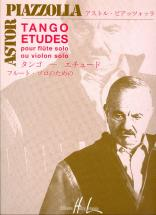 Piazzolla Astor - Tango - Etudes (6) - Flute Ou Violon