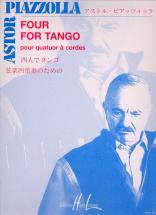 Piazzolla Astor - Four For Tango - Quatuor A Cordes