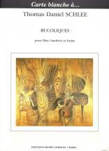 Schlee Thomas Daniel - Bucoliques - Flute, Hautbois, Harpe