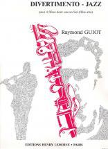 Guiot Raymond - Divertimento-jazz - 4 Flutes Dont Une En Sol