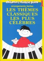 Heumann Hans-g�nter - Th�mes Classiques Les Plus C�l�bres Vol.1 - Piano