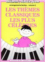 Heumann Hans-günter - Thèmes Classiques Les Plus Célèbres Vol.2 - Piano