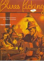 Giroux Alain - Le Blues Picking + Cd - Guitare
