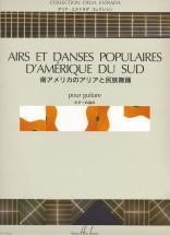 Estrada Delia - Airs Et Danses Populaires D'amerique Latine - Guitare