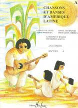 Rivoal Yvon - Chansons Et Danses D'amerique Latine Vol.a - 2 Guitares
