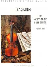 Paganini N. - Mouvement Perpetuel - Violon, Piano