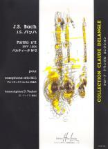 Bach J.s. - Partita N°2 Bwv1004 - Saxophone Alto Solo