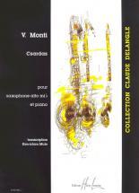 Monti Vittorio - Czardas - Saxophone Mib, Piano