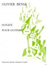 Bensa Olivier - Sonate - Guitare