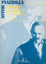 Piazzolla Astor - Histoire Du Tango - 4 Saxophones