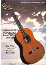 Pieces Populaires D'amerique Latine (5) - Guitare