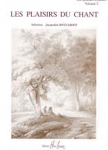 Bonnardot Jacqueline - Les Plaisirs Du Chant Vol.2 - Voix Elevee Ou Moyenne, Piano