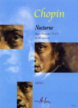 Chopin F. - Nocturne Op.72 N°1 En Mi Min. - Piano