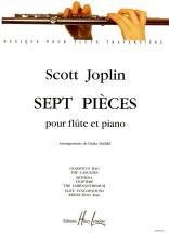 Joplin Scott - Pièces (7) - Flute, Piano