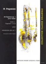 Paganini N. - Caprices (24) Vol.1 - Saxophone Solo