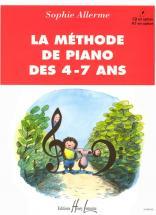 Allerme Sophie - Méthode De Piano Des 4-7 Ans