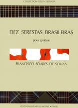 De Souza Soares - Dez Serestas Brasileiras - Guitare