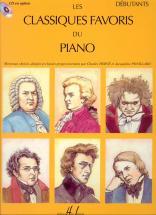 Classiques Favoris Vol.débutants - Piano