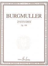 Burgmuller Friedrich - Etudes Op.100 (25) - Piano