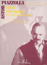 Piazzolla Astor - Four For Tango - 4 Saxophones