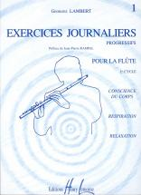 Lambert Georges - Exercices Journaliers Vol.1 - Flute